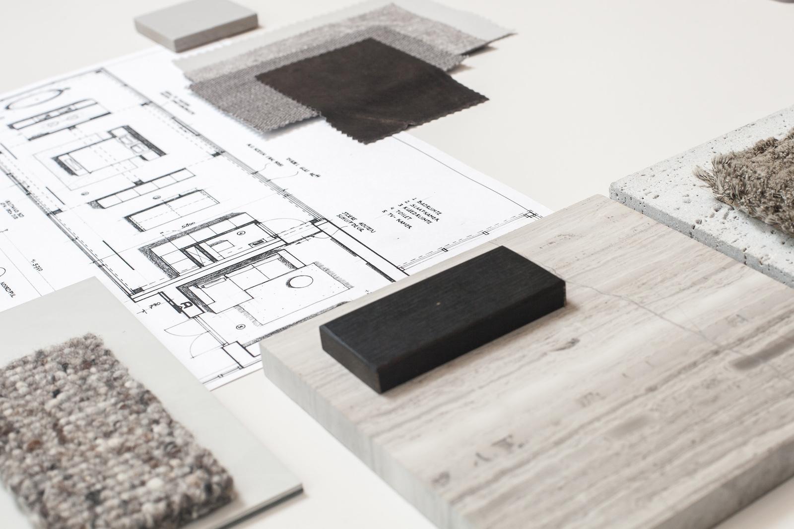 Architect Nijmegen materialenplan