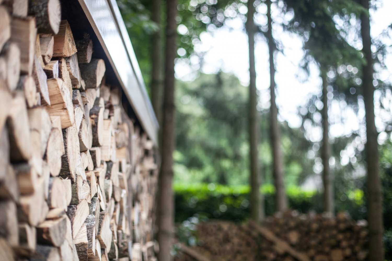 Verbouwing Mook Villa houtwal
