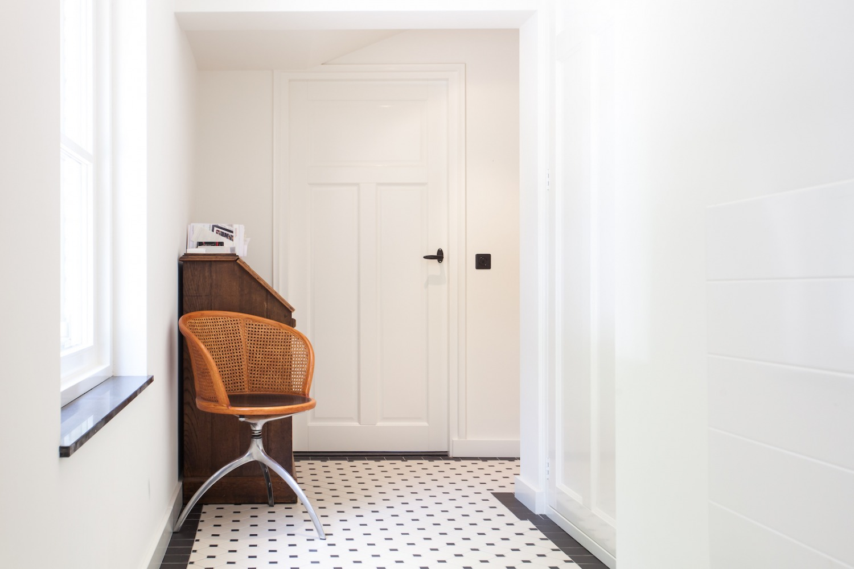 Verbouwing Mook Villa traditionele vloer