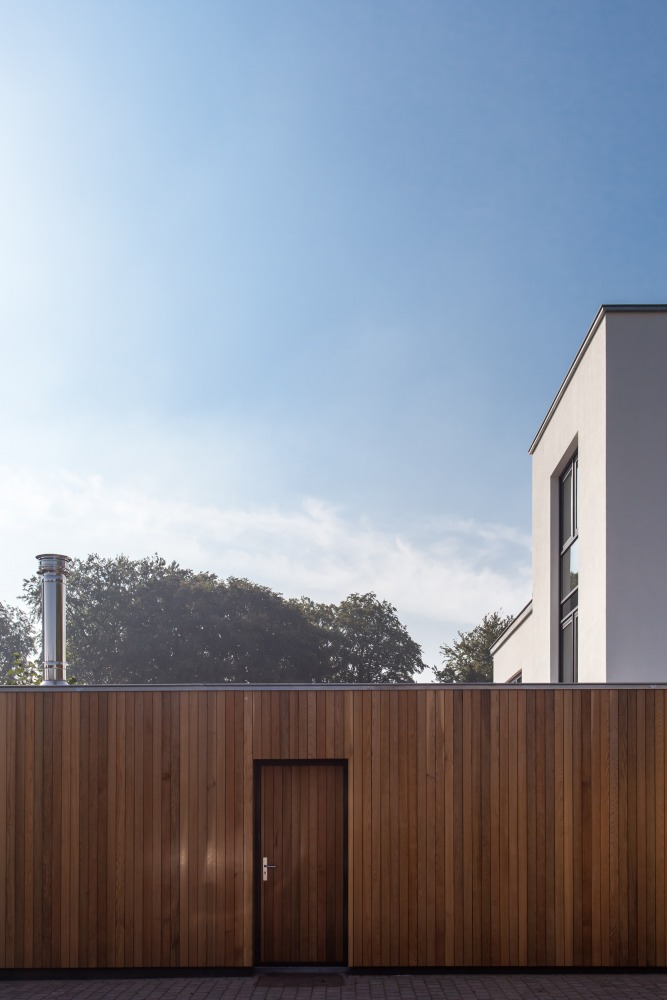ontwerp strakke villa Nijmegen