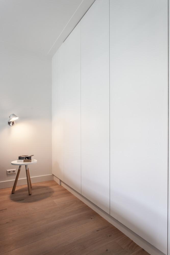 Verbouwing jaren-30-woning slaapkamer schilderij