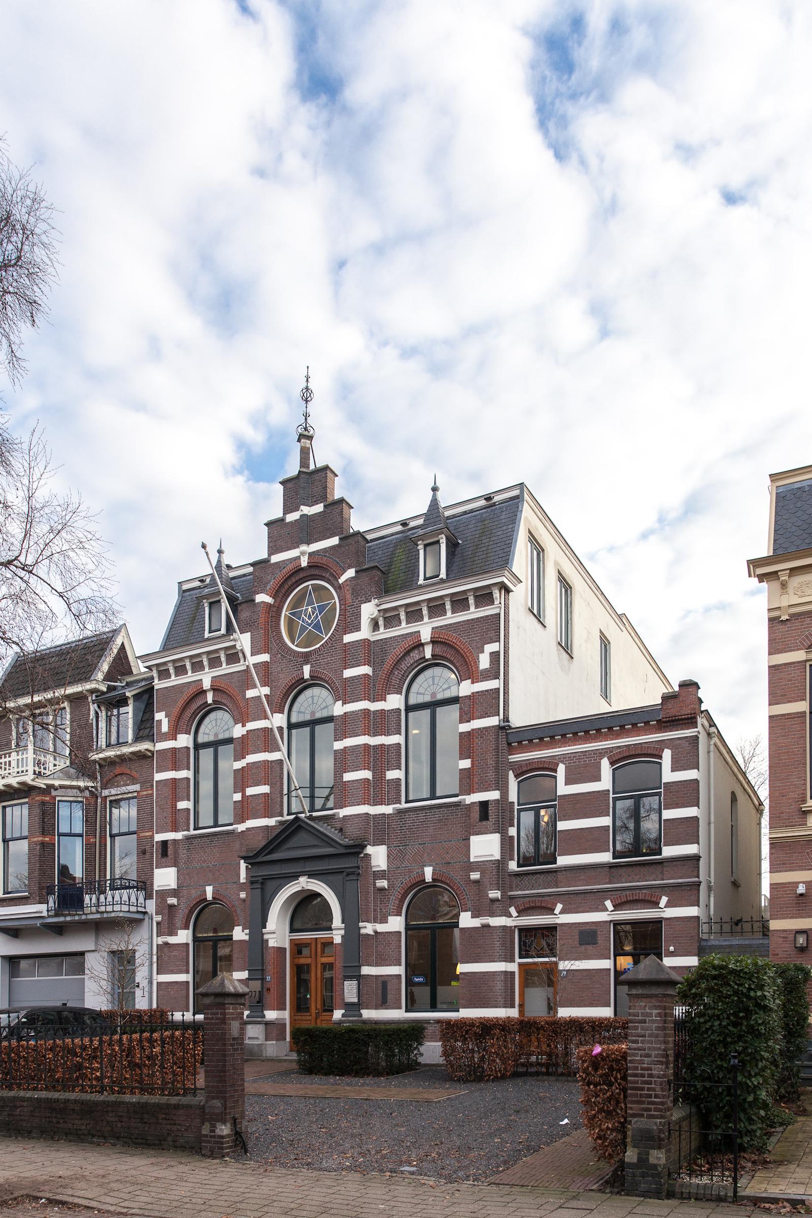 Architect Nijmegen gebouw vrijmetselaarsloge