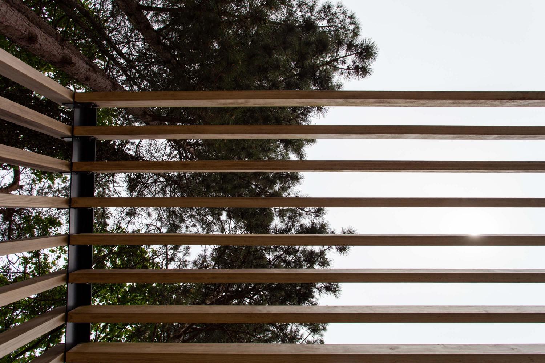 ontwerp carport voor villa heilig landstichting