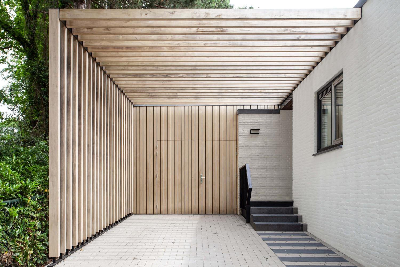 ontwerp carport voor villa heilig landstichting door architect
