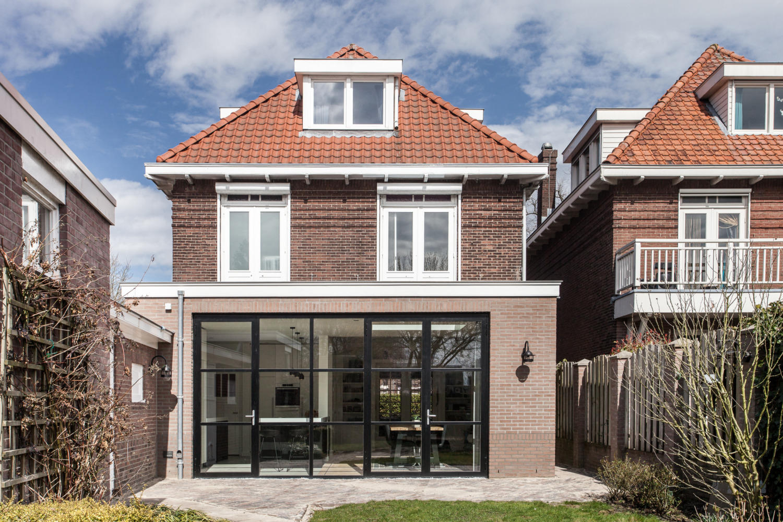 Verbouwing Nijmegen jarendertigwoning Architect uitbouw