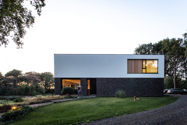 Ontwerp moderne villa