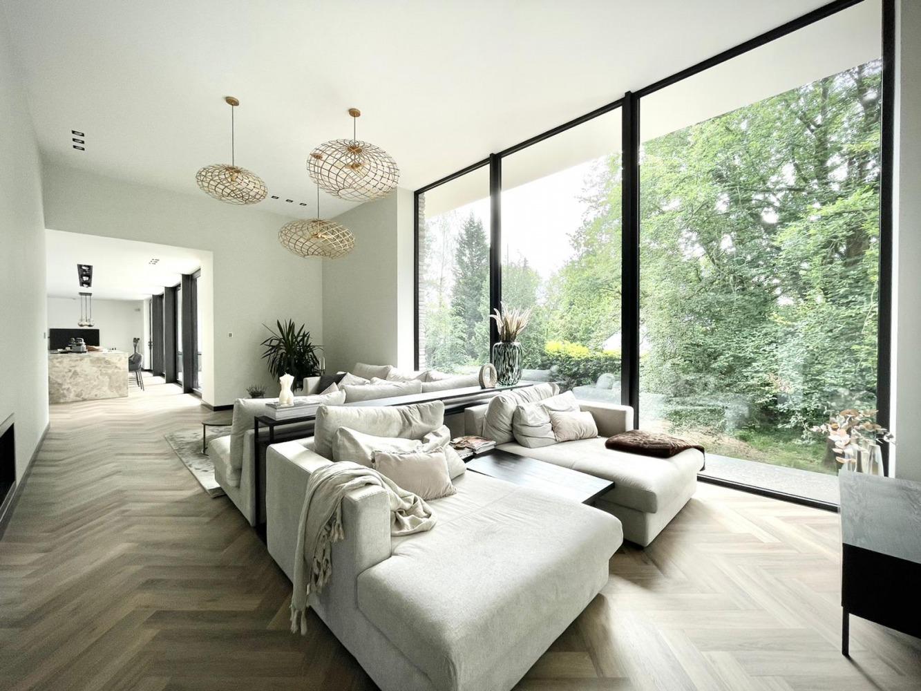 Verbouwing moderne villa heilig landstichting villaontwerp