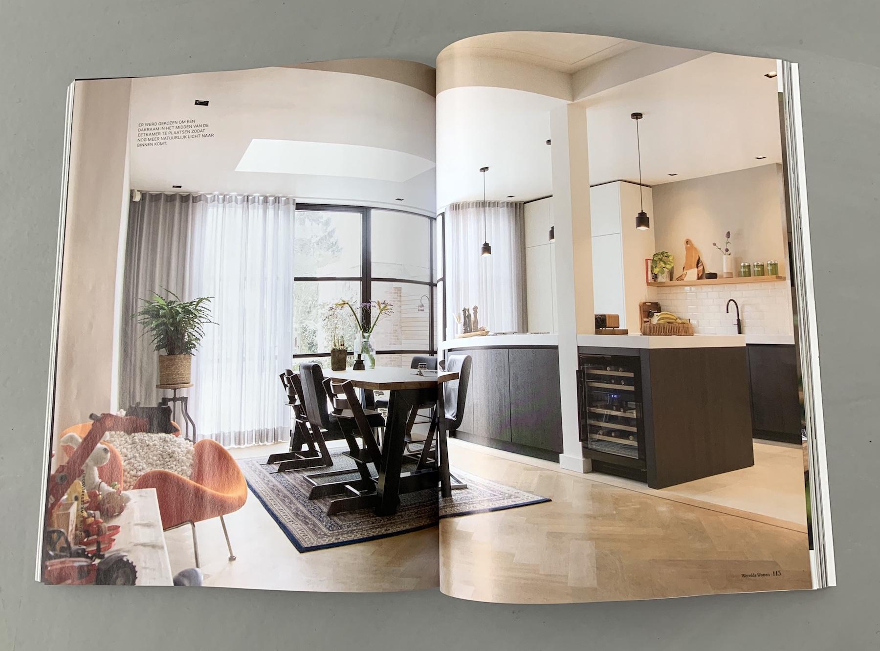 Artikel over architect voor aanbouw Nijmegen