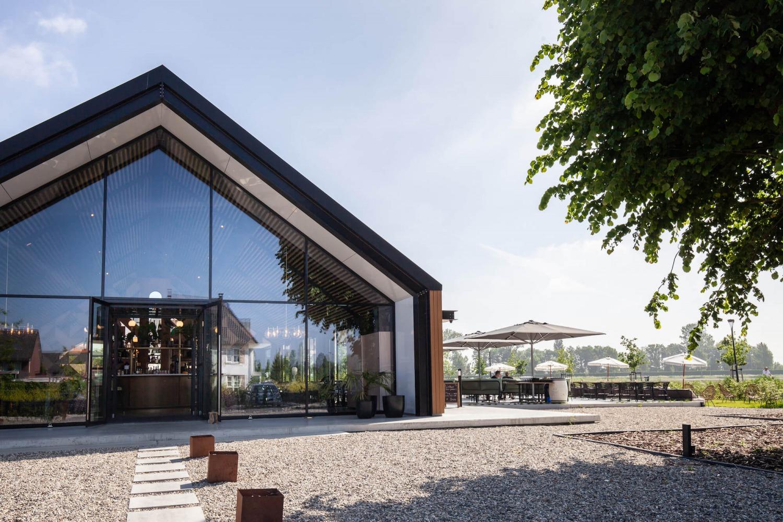 Gevel nieuw restaurant Nijmegen