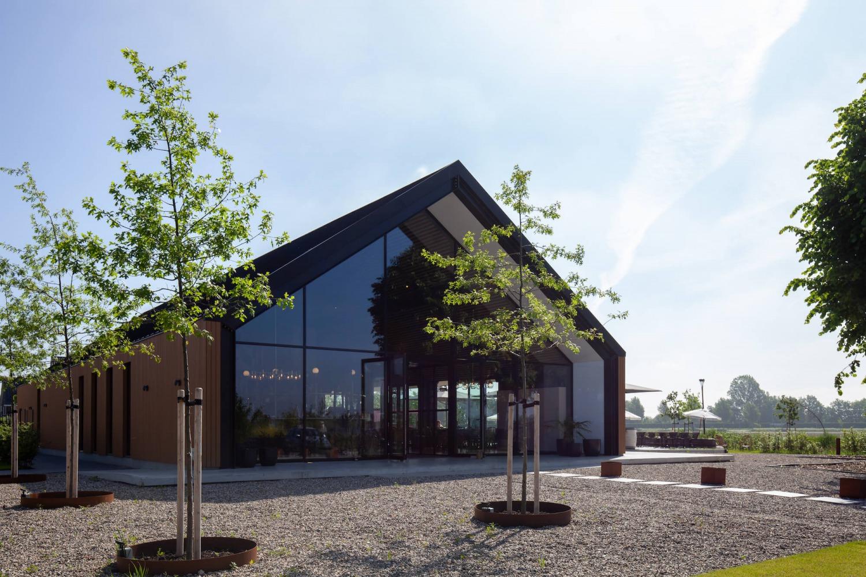 Architectonisch ontwerp restaurant Brass