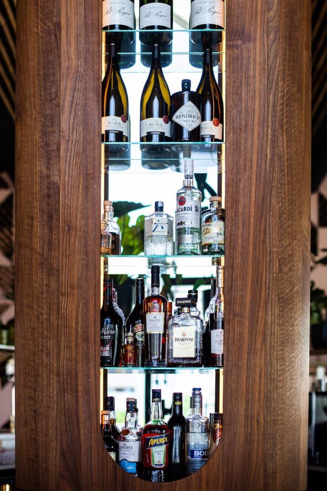 liquor restaurant Brass