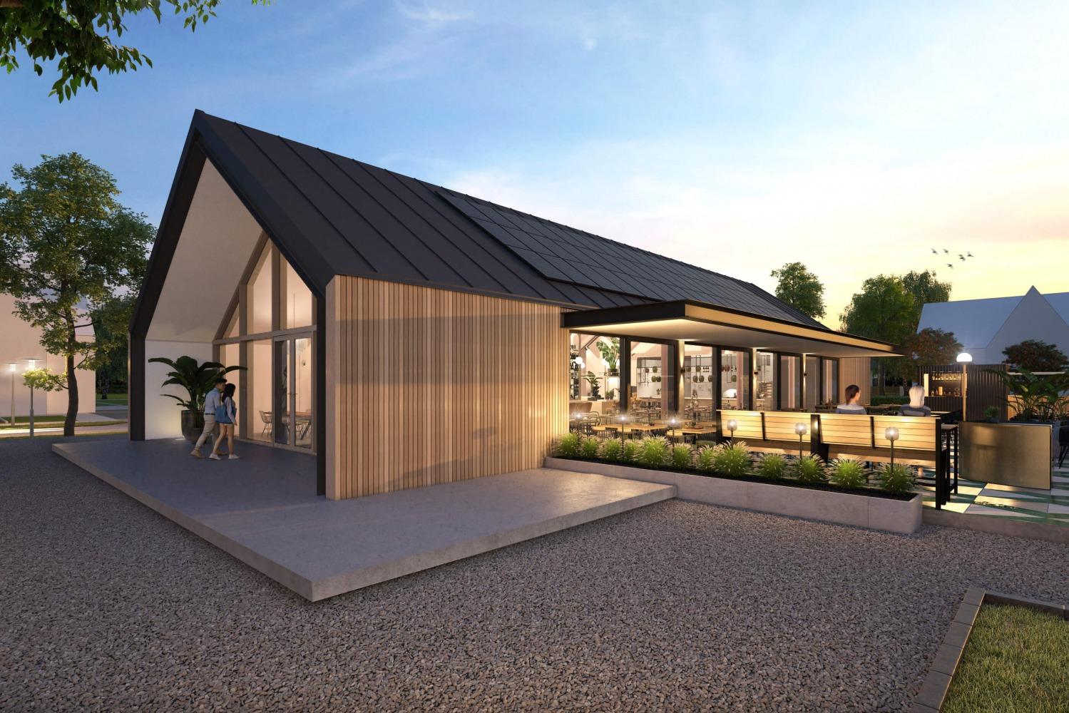Ontwerp horecapand door architect Nijmegen