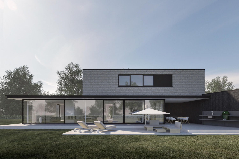 Ontwerp architect villa in den bosch energieneutraal