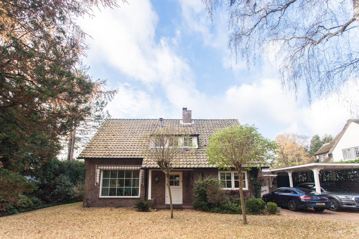 architect private family house The Netherlands old situation