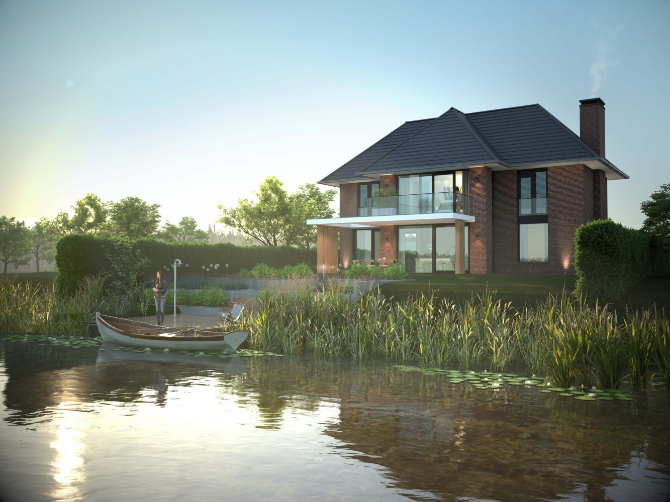 Villa ontwerp architect Nijmegen Lent door Bob Romijnders