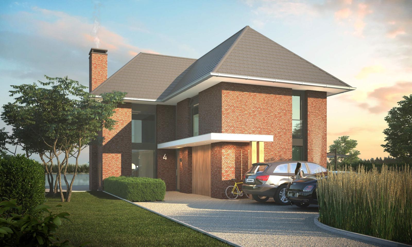 Villaontwerp Nijmegen Noord door architect Bob Romijnders