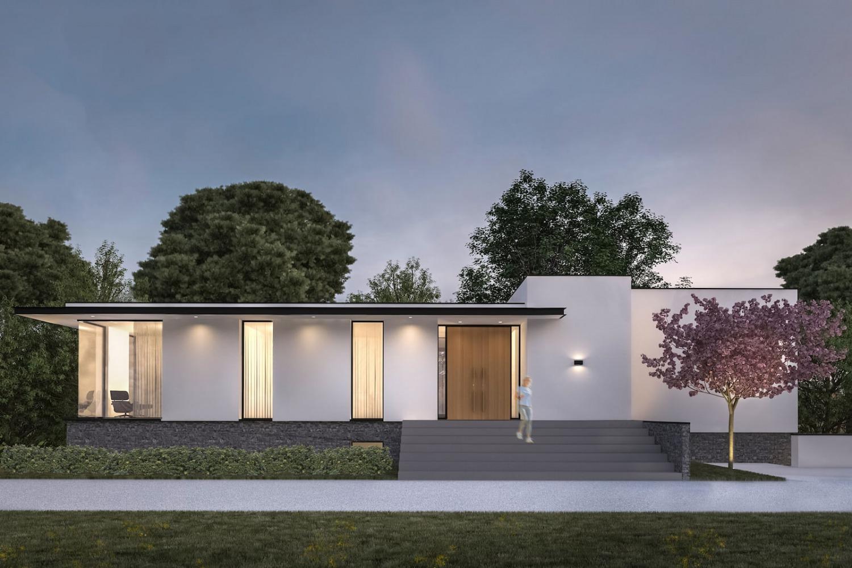 Ontwerp voor moderne villa
