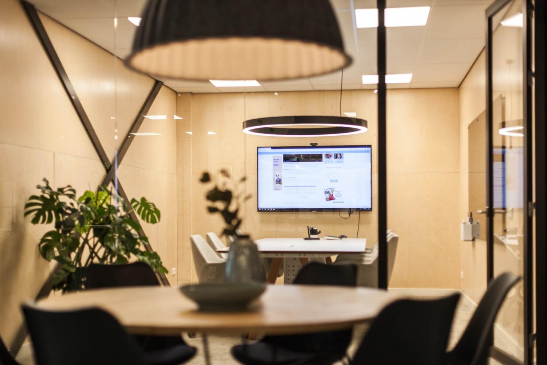 transparante kantoorruimte