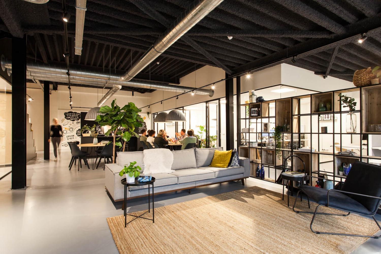 Indeling nieuw kantoorpand door interieurarchitect