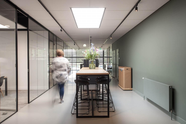 interieurontwerp voor verbouwing van een bedrijfspand in Nijmegen