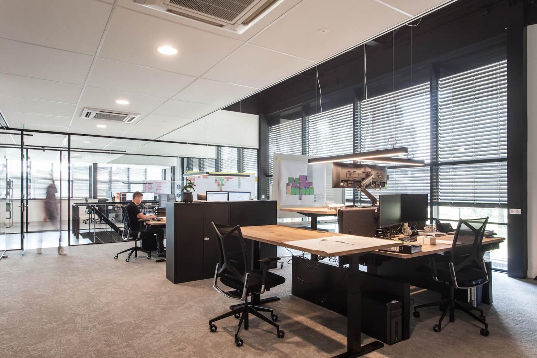 Verbouwing kantoorruimte interieurarchitect Nijmegen
