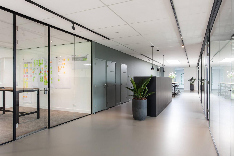 Verbouwing bedrijfspand interieurarchitect Nijmegen kleurenplan