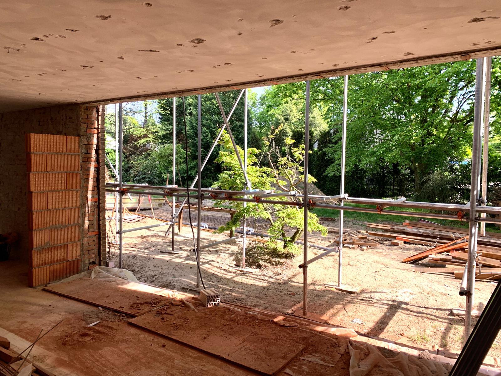 foto villa ontwerp aan bosrand