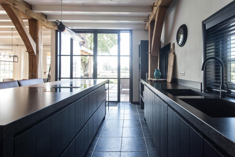 Keukenverbouwing villa in het gooi