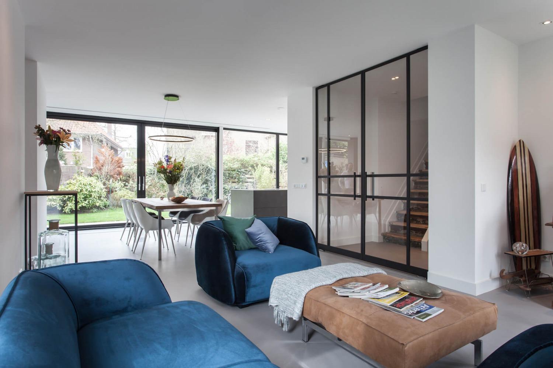 zitkamer ontworpen door interieurarchitect