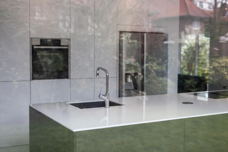 verbouwing keuken van villa