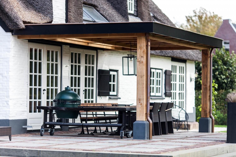 architect voor verbouwing leefkeuken villa in Blaricum