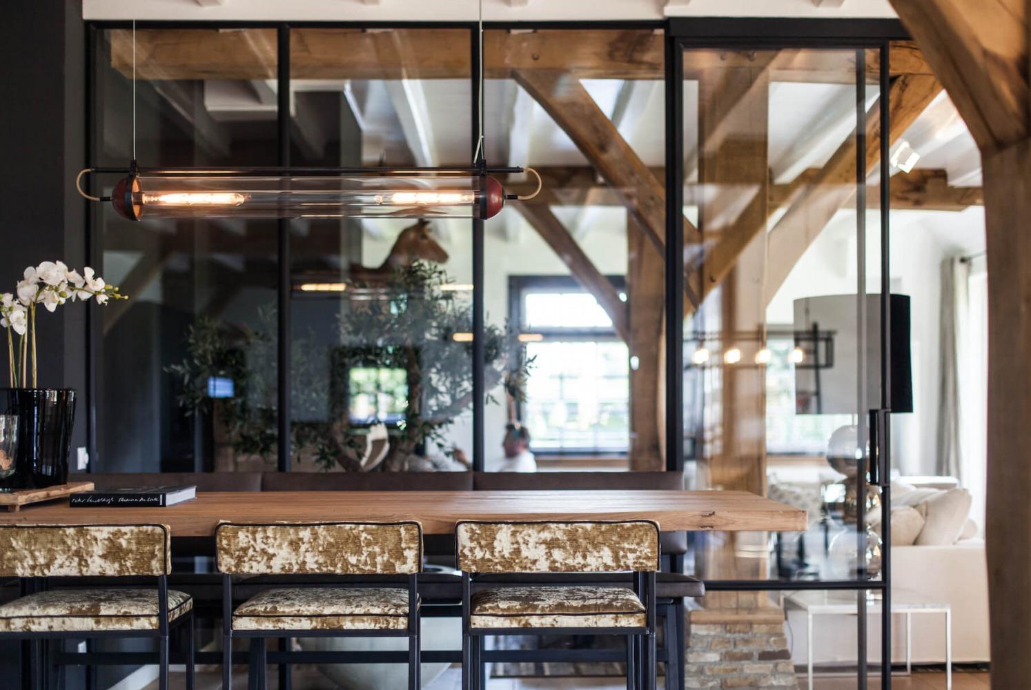 interieurarchitect voor verbouwing moderne villa in Blaricum