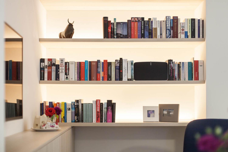 scandinavische boekenkast
