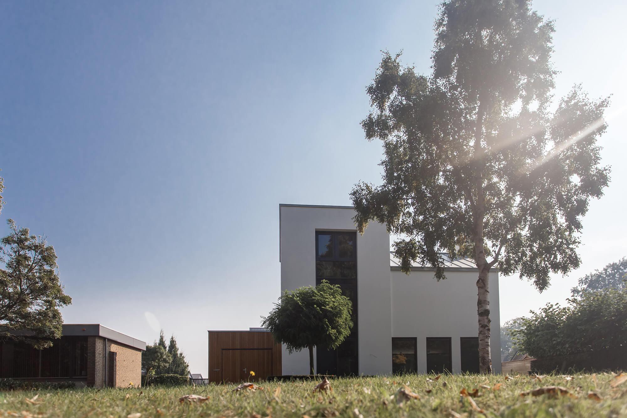 moderne woning bouwen