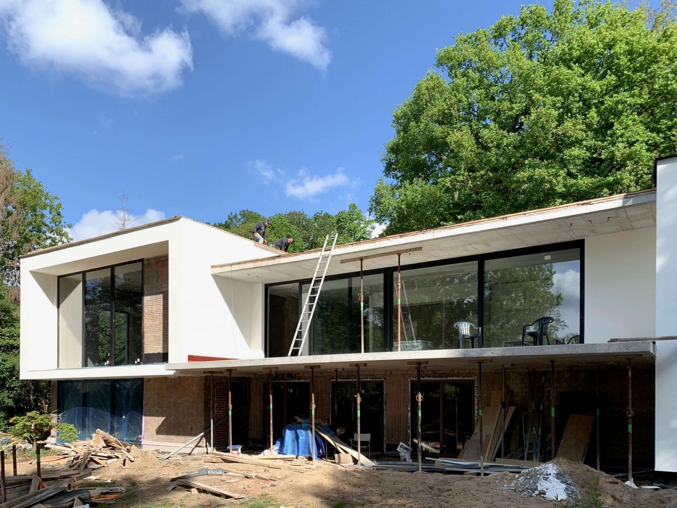 Ontwerp verbouwing villa Kwakkenberg