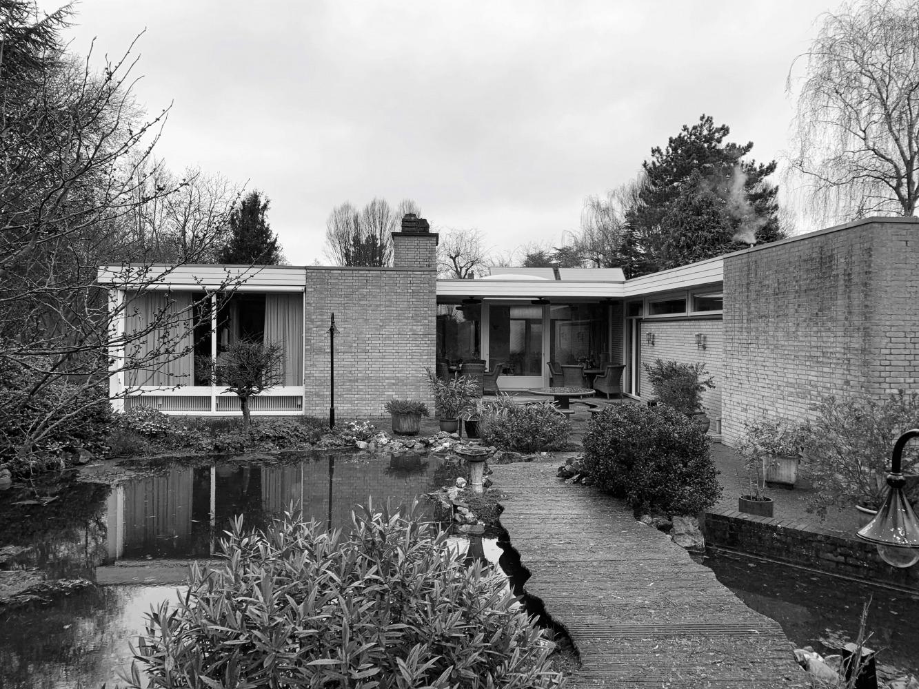 situatie voor verbouwing bungalow