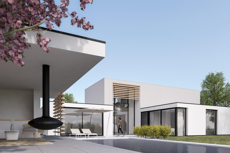 metamorfose van bungalow naar moderne villa