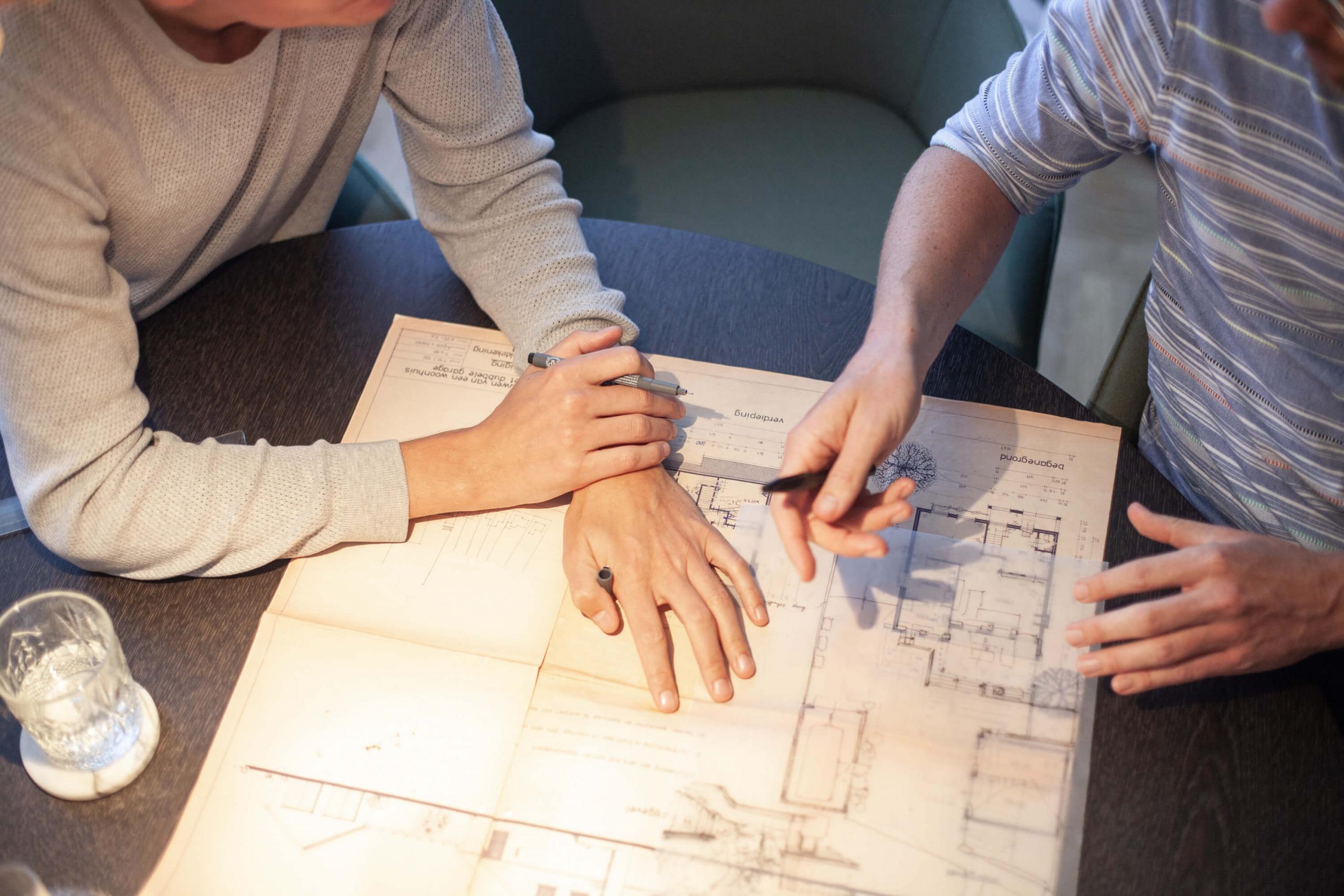 werkoverleg architectenbureau Nijmegen