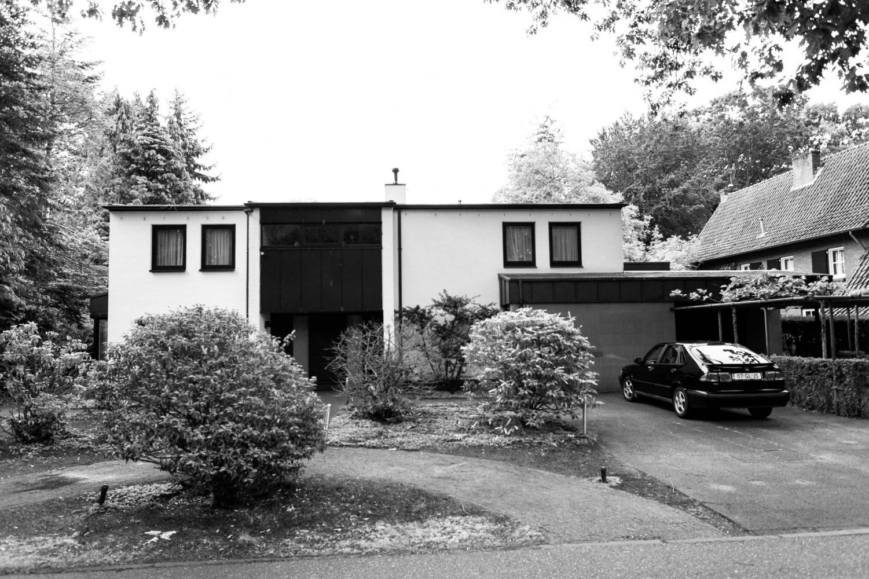 Bestaande-situatie voorgevel villa Vught verbouwing door architect