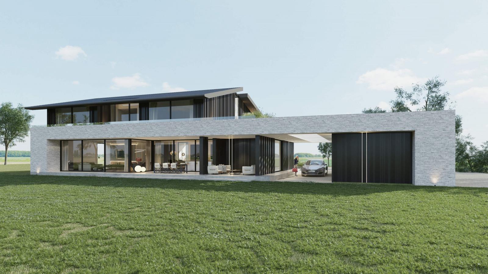 Nieuwbouw moderne villa Vught