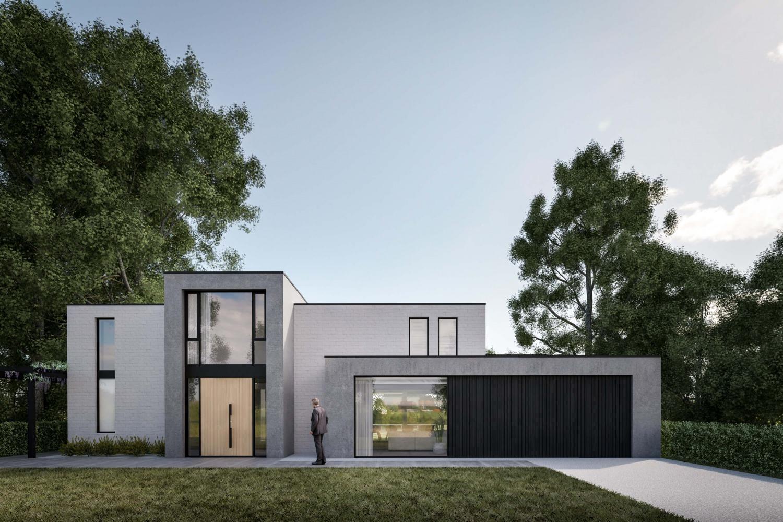 Voorgevel villa Vught verbouwing door architect