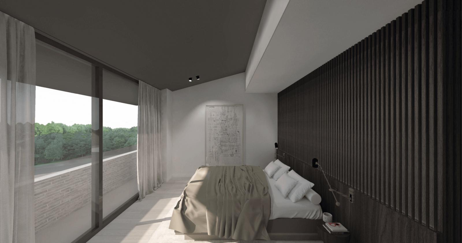 interieurontwerp-vught luxe slaapkamer binnenhuisarchitect