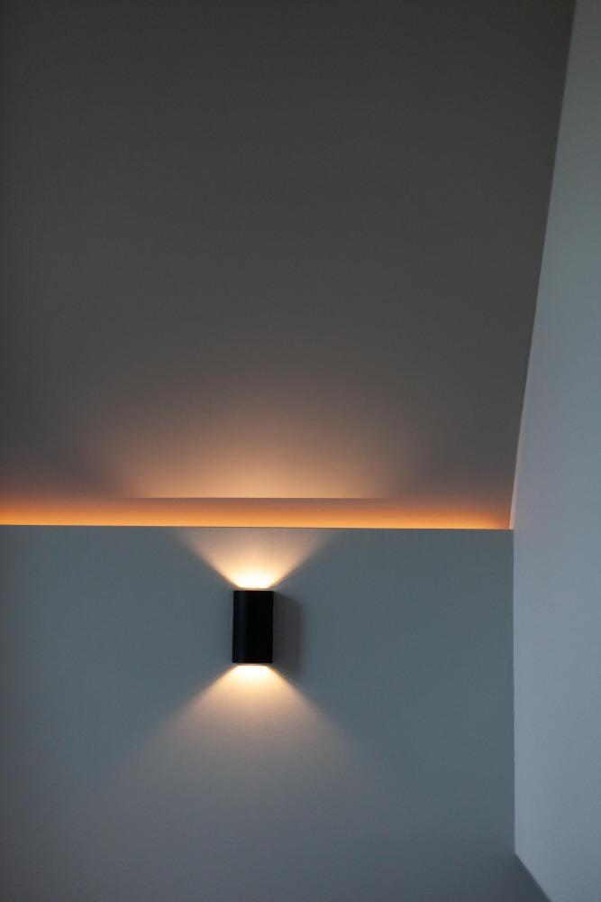 lichtplan voor verbouwing