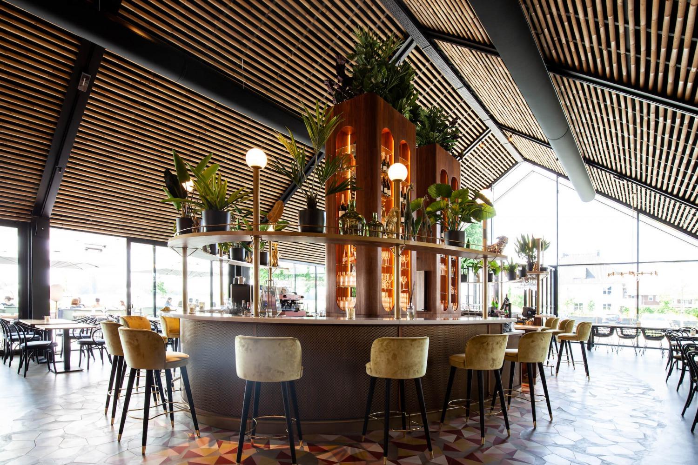 architect Restaurant Brass Nijmegen de bar
