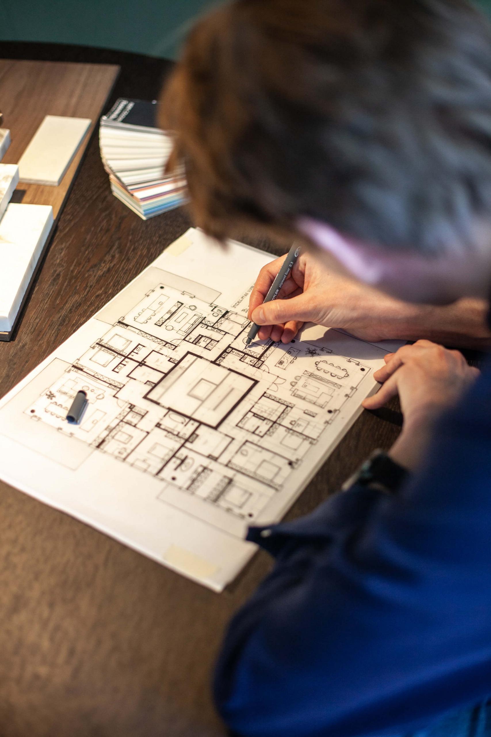 Handtekening architect Bob Romijnders